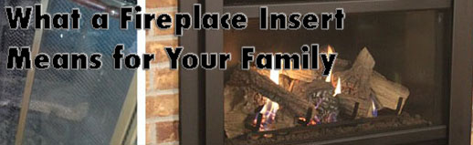 fireplace insert header